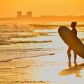 湘南・鵠沼海岸夕景 #湘南 #藤沢 #海 #波 #wave #surfing #sea
