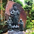 恋愛成就のパワースポット不動明王像 #湘南 #鎌倉 #kamakura #寺 #temple #花 #flower #パワースポット