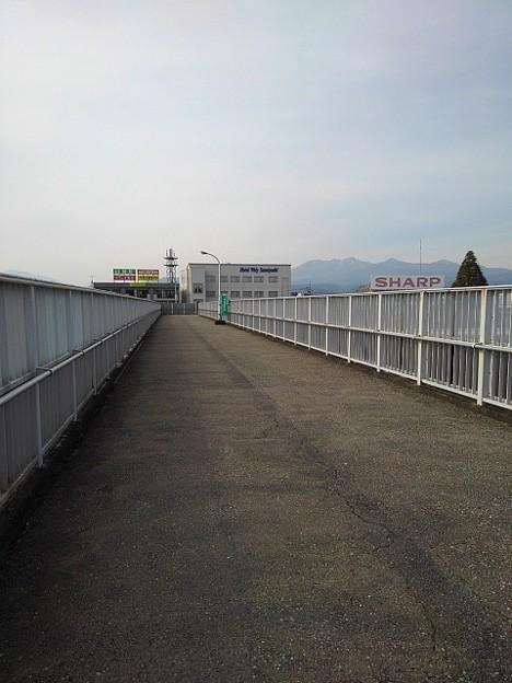 歩道橋(2月12日)