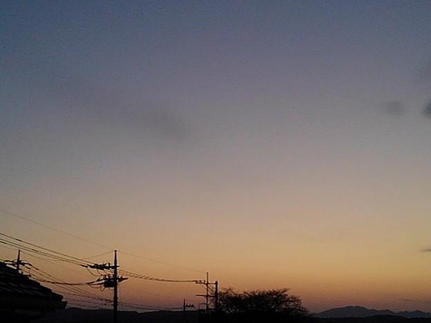 夕日(2月13日)