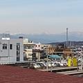 雪山と鉄塔(2月12日)【再アップ】