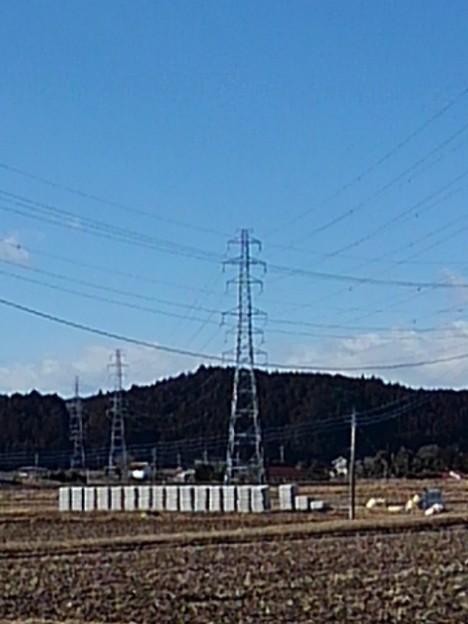 田園の鉄塔(2月16日)