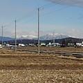 Photos: 道路の奥の雪山(2月17日)