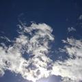 太陽を隠した雲(2月24日)