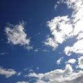 薄い雲もある青空(2月24日)