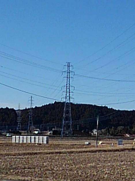 田園の鉄塔(2月24日)