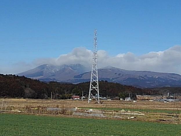 山のある景色(2月23日)