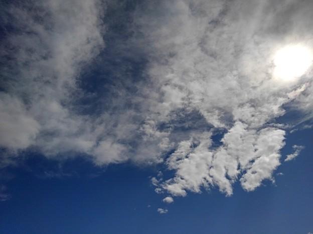 雲が太陽を隠した光景(3月14日)