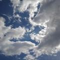 青空と雲(3月23日)