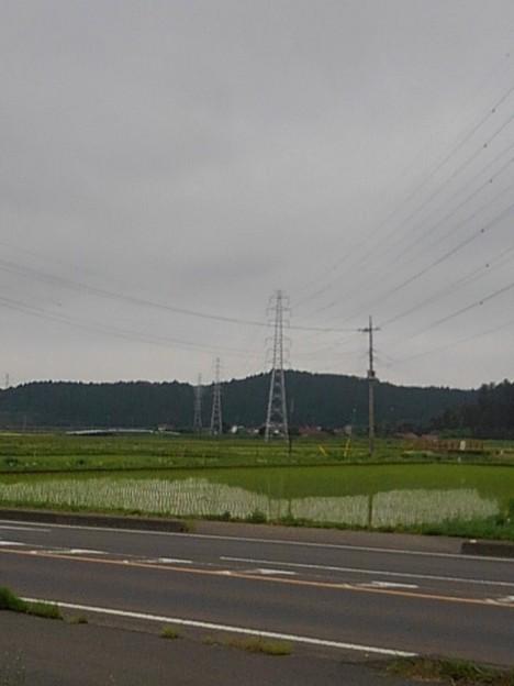 水田もある景色(5月17日)