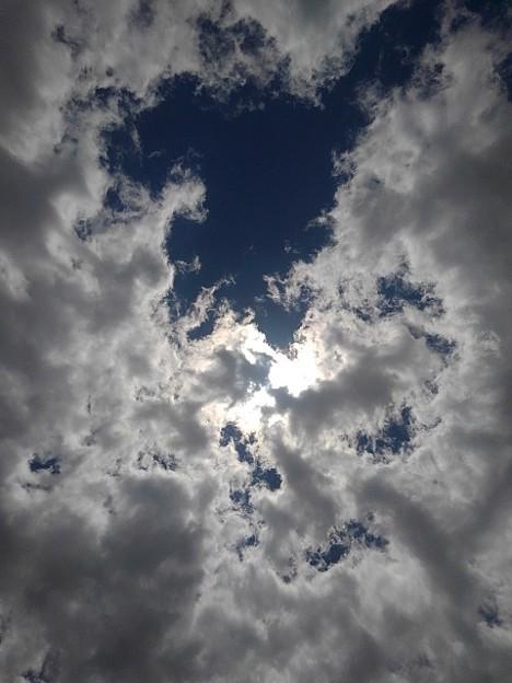 大きな雲と空(5月25日)