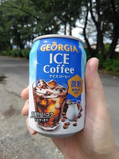 烏ヶ森公園の缶コーヒー(6月20日)