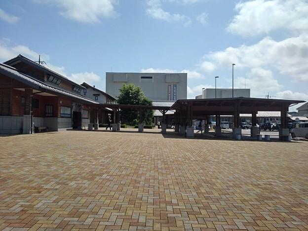 道の駅の石畳の道(6月26日)