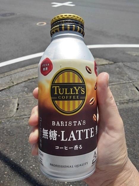 タリーズラテ缶(8月1日)