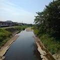 Photos: 映り込みも見られた川の景色(7月20日)