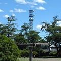 Photos: 長峰公園から見えた鉄塔(8月10日)