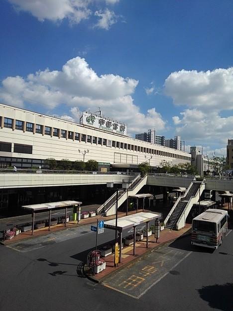 宇都宮駅の駅舎(8月6日)