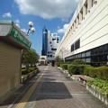 Photos: 宇都宮駅の歩道(8月6日)