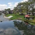 Photos: 堰の上の映り込み(8月20日)