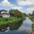 Photos: 川の映り込み(8月20日)