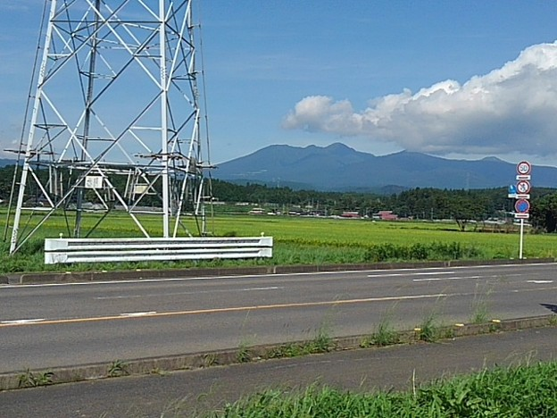 山が見える景色(8月26日)