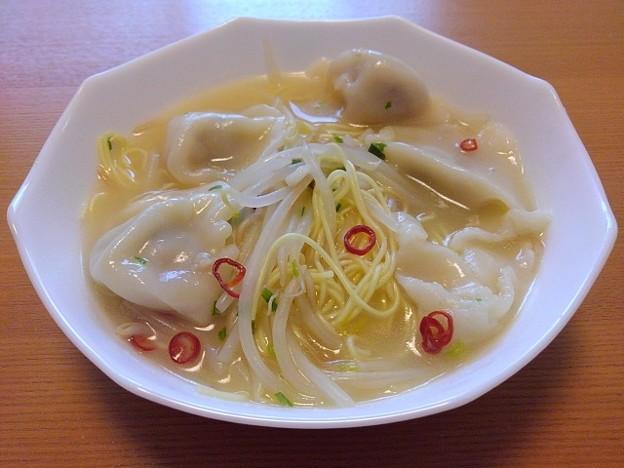 中華そうめん入り餃子スープ(9月8日)