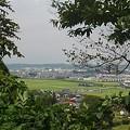 Photos: 川崎城跡公園の丘の上から見えた眺め(8月28日)