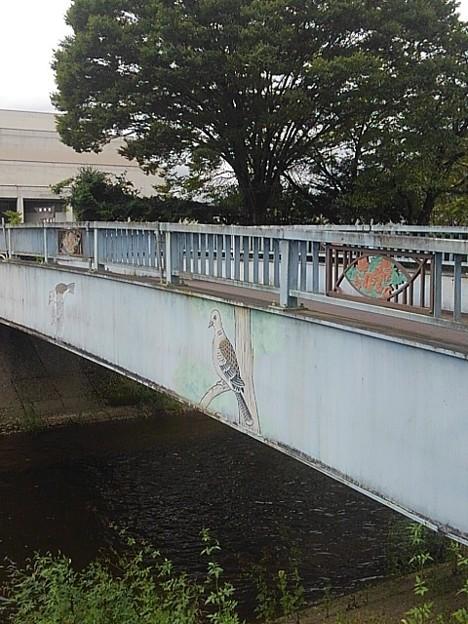 鳥の絵のある橋(9月5日)