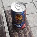 Photos: ベンチの上の缶コーヒー(9月18日)