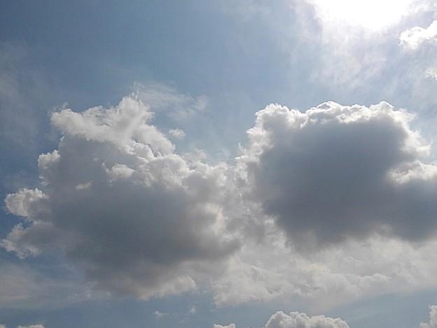 大きな雲コンビ(9月15日)