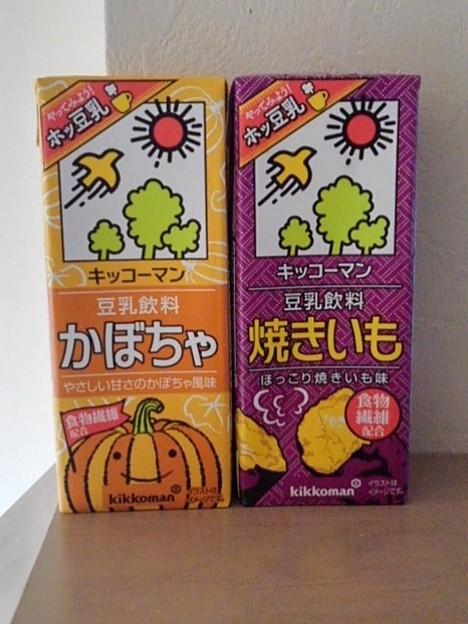 秋の豆乳(9月26日)