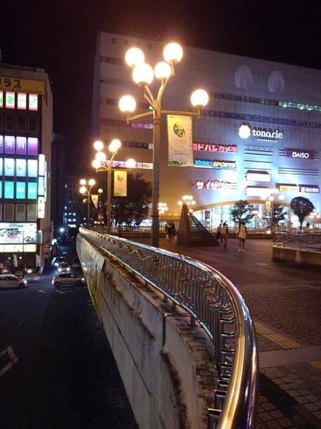 夜の宇都宮駅(10月8日)