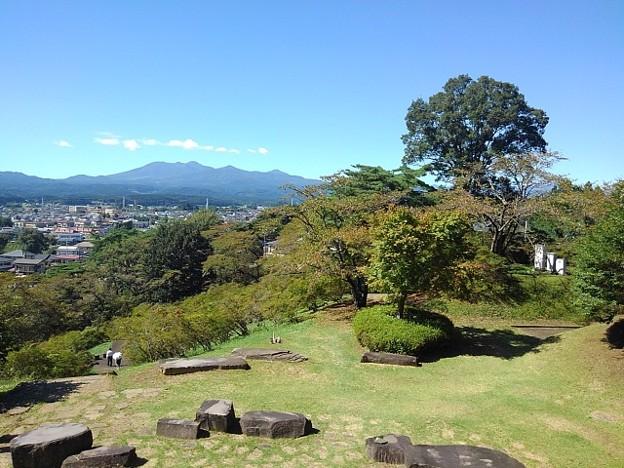 長峰公園の丘のタワーからの眺め(9月19日)