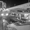 宇都宮駅の夜景をモノクロに!!(10月8日)