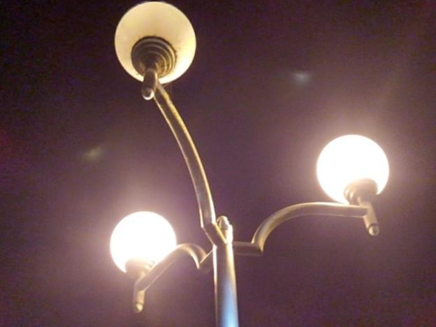 街灯(10月8日)