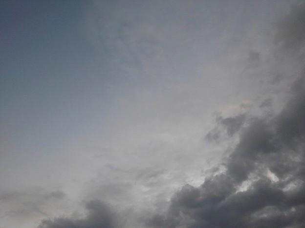 夕方の空(10月10日)