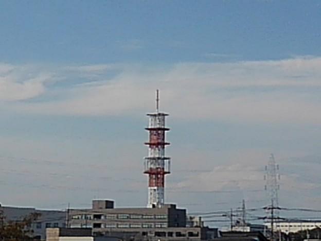 宇都宮の鉄塔(10月8日)