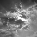 空・モノクロ(10月15日)