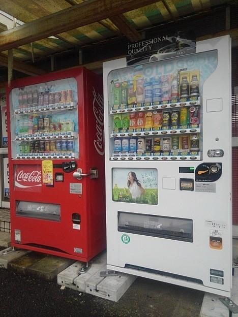 自動販売機(10月16日)