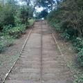 烏ヶ森公園の丘の上り階段(10月3日)
