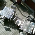 テーブルと椅子