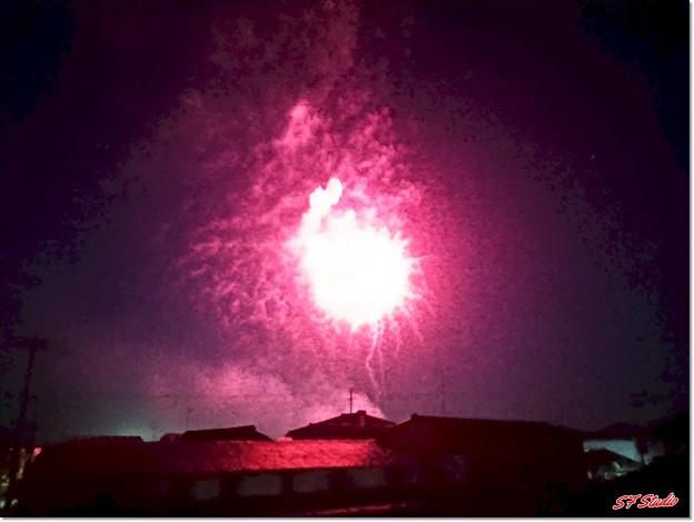 速報! 町内の「日本列島花火のWa!」