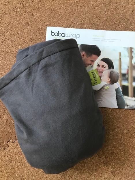 boba wrap grey $10