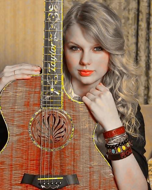 Beautiful Blue Eyes of Taylor Swift(11144)