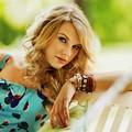 Beautiful Blue Eyes of Taylor Swift(11152)