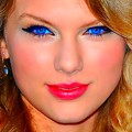 Beautiful Blue Eyes of Taylor Swift(11153)
