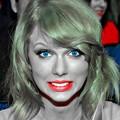 Beautiful Blue Eyes of Taylor Swift(11155)