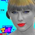 Beautiful Blue Eyes of Taylor Swift(11160)