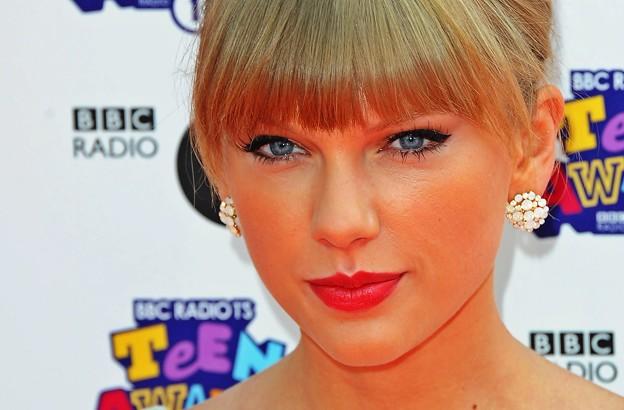 Beautiful Blue Eyes of Taylor Swift(11161)