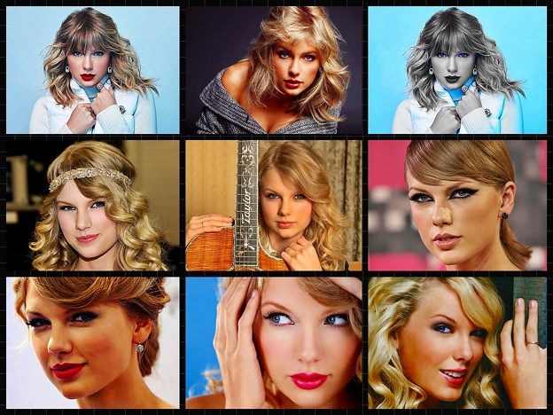 Beautiful Blue Eyes of Taylor Swift(11164)